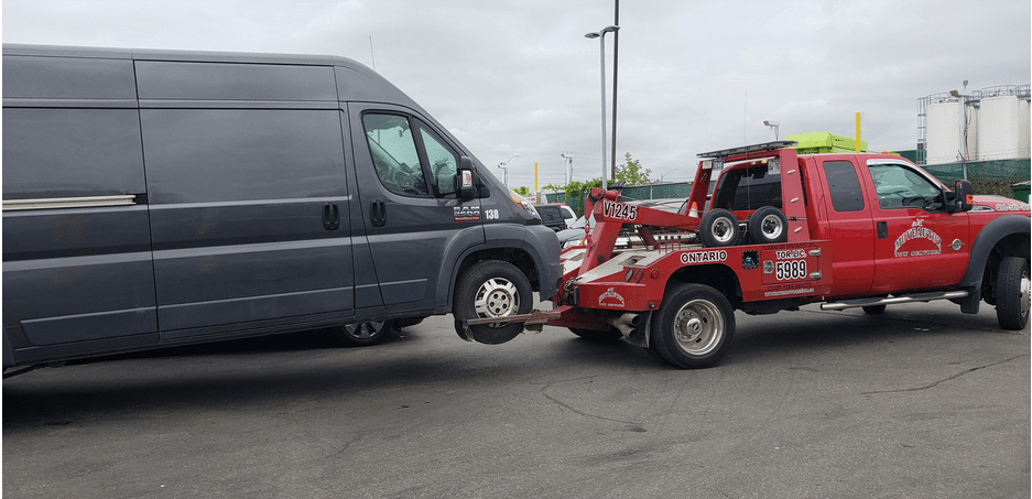 Local auto towing in Vaughan